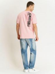 Pánske ružové tričko Amstaff Aponi T-Shirt Size: 3XL #2