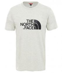 Pánske svetlošedé tričko s krátkym rukávom The North Face