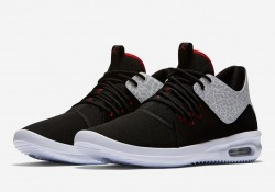 Pánske tenisky Air Jordan First Class Black White Silver Gym Red