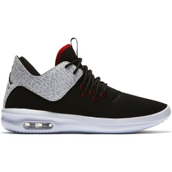 Pánske tenisky Air Jordan First Class Black White Silver Gym Red #1