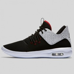 Pánske tenisky Air Jordan First Class Black White Silver Gym Red #2