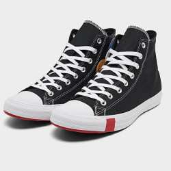 Pánske tenisky CONVERSE Chuck Taylor All Star Multi Logo Hight Top Black