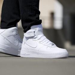 Pánske tenisky Nike Air Force 1 Mid `07 White #1