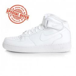 Pánske tenisky Nike Air Force 1 Mid `07 White #2