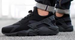 Pánske tenisky Nike Air Huarache Black Black White