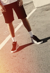 Pánske tenisky Urban Classics Printed High Canvas Sneaker