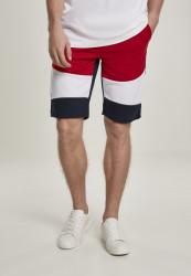 Pánske teplákové kraťasy SOUTHPOLE Color Block Tech Fleece Shorts Farba: Navy,