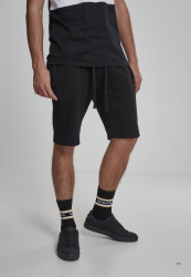 Pánske teplákové  kraťasy Urban Classics Basic Sweatshorts black