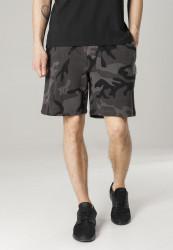 Pánske teplákové kraťasy URBAN CLASSICS Basic Terry Shorts maskáčové