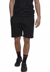 Pánske teplákové  kraťasy Urban Classics Terry Shorts black