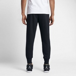 Pánske tepláky AIR JORDAN FLIGHT PANT BLACK WHITE - Pánske nohavice ... 0487d61be36