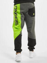 Pánske tepláky Dangerous DNGRS / Sweat Pant Cubix in black Size: 4XL