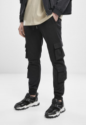 Pánske tepláky URBAN CLASSICS Double Pocket Terry Sweat Pants black
