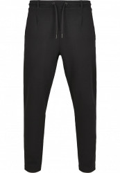 Pánske tepláky URBAN CLASSICS Formula Cropped Peached Interlock Pants black