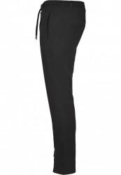 Pánske tepláky URBAN CLASSICS Formula Cropped Peached Interlock Pants black #1