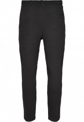 Pánske tepláky URBAN CLASSICS Formula Cropped Peached Interlock Pants black #2