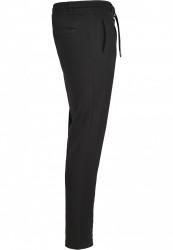 Pánske tepláky URBAN CLASSICS Formula Cropped Peached Interlock Pants black #3
