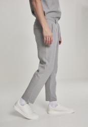 Pánske tepláky URBAN CLASSICS Formula Cropped Peached Interlock Pants grey #3