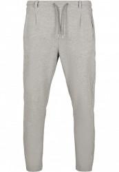 Pánske tepláky URBAN CLASSICS Formula Cropped Peached Interlock Pants grey #5