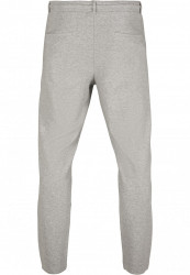 Pánske tepláky URBAN CLASSICS Formula Cropped Peached Interlock Pants grey #6