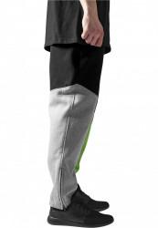 Pánske tepláky URBAN CLASSICS Zig Zag Sweatpants gry/blk/lg #3