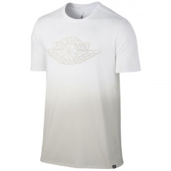 Pánske tričko Air Jordan Fadeaway Faded T-Shirt White Light Bone