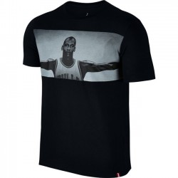 Pánske tričko Air Jordan Wings T-shirt Black