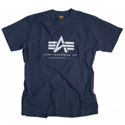 18e29421cc Pánske tričko Alpha Industries Basic T-Shirt Navy