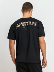 Pánske tričko Amstaff Logo 2.0 T-Shirt - schwarz #1