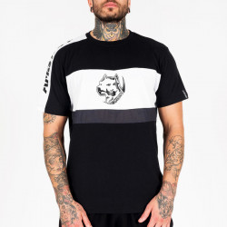 Pánske tričko Amstaff Menes T-Shirt - schwarz