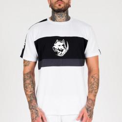 Pánske tričko Amstaff Menes T-Shirt - weiß Size: 3XL