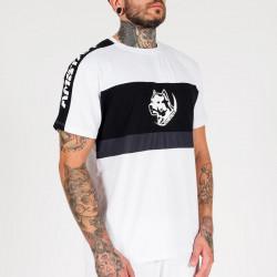 Pánske tričko Amstaff Menes T-Shirt - weiß Size: 3XL #2
