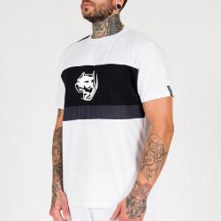 Pánske tričko Amstaff Menes T-Shirt - weiß Size: 3XL #3