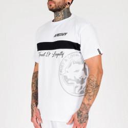 Pánske tričko Amstaff Okus T-Shirt - weiß Size: 3XL #3