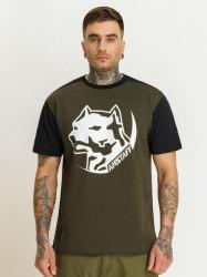 Pánske tričko Amstaff Rekas T-Shirt Size: 3XL