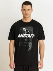 Pánske tričko Amstaff Torko T-Shirt black Size: 3XL