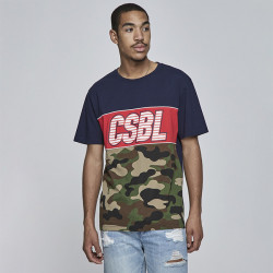 Pánske tričko Cayler & Sons BLACK LABEL t-shirt CSBL Ante Up Tee navy Size: XL