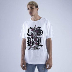 Pánske tričko Cayler & Sons BLACK LABEL t-shirt CSBL Arise Tee white Size: XL