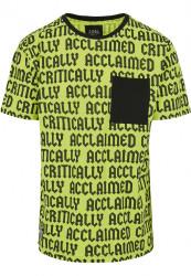 Pánske tričko Cayler Sons CSBL Critically Acclaimed Semi Box Farba: volt/black,