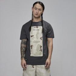 Pánske tričko Cayler & Sons t-shirt Black Label Tres Slick Tee charcoal / desert camo