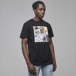 Pánske tričko Cayler & Sons White Label Pacenstein Tee black Size: XL
