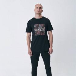 Pánske tričko Cayler & Sons WHITE LABEL t-shirt Bon Voyage Tee black Size: XL