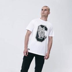 Pánske tričko Cayler & Sons WHITE LABEL t-shirt C-Enemies Tee white / black Size: XL