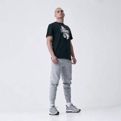 Pánske tričko Cayler & Sons WHITE LABEL t-shirt Jay Trust Tee black / grey Size: XL #1