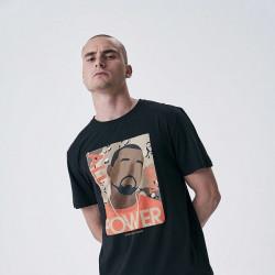 Pánske tričko Cayler & Sons WHITE LABEL t-shirt Power Tee black Size: XL