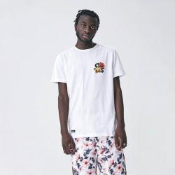 Pánske tričko Cayler & Sons WHITE LABEL t-shirt Stand Strong Tee white Size: XL