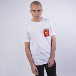 Pánske tričko Cayler & Sons WHITE LABEL t-shirt WL Happy Meal Pocket Tee white/mc