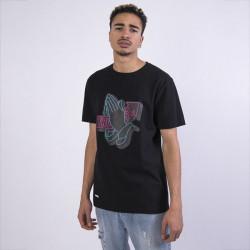 Pánske tričko Cayler & Sons WHITE LABEL t-shirt WL Trust Lights Tee black/mc