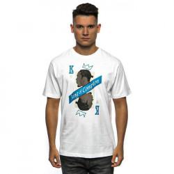 Pánske tričko Cayler & Sons WL King Campton Tee white/mc Size: XL