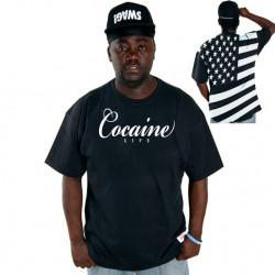 Pánske tričko Cocaine Life Country Hunter Tee Black